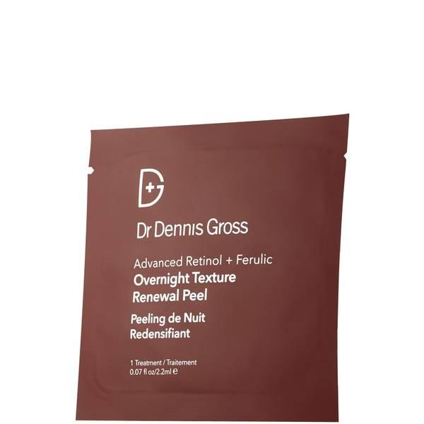 Dr. Dennis Gross Skincare Advanced Retinol + Ferulic Overnight Texture Renewal Peel