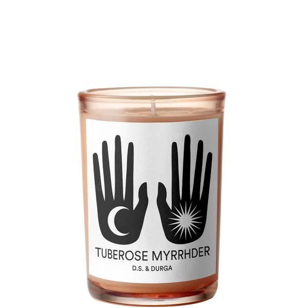 D.S. & DURGA Tuberose Myrrhder Candle