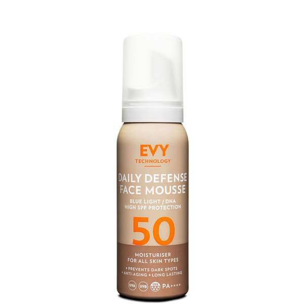 EVY Technology Daily Defense Face Mousse SPF50