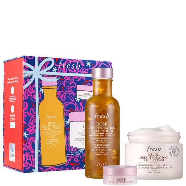 fresh Rose Deep Hydration Essentials Gift Set