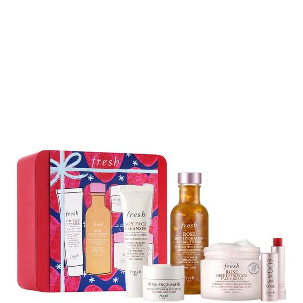 fresh Rose Deep Hydration Skincare Gift Set