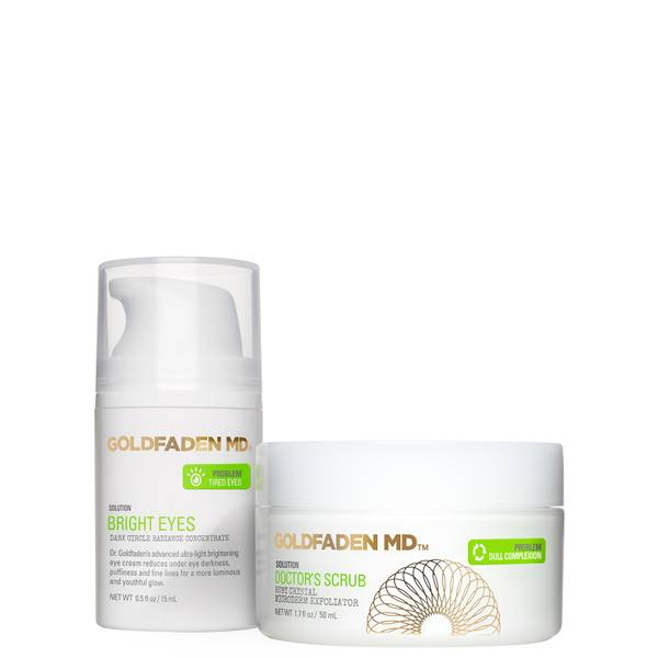 Goldfaden MD Doctor's Scrub and Bright Eyes Duo