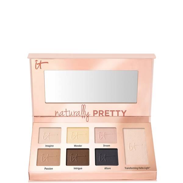 IT Cosmetics Naturally Pretty Essentials Mini Matte Luxe Transformer Eyeshadow Palette