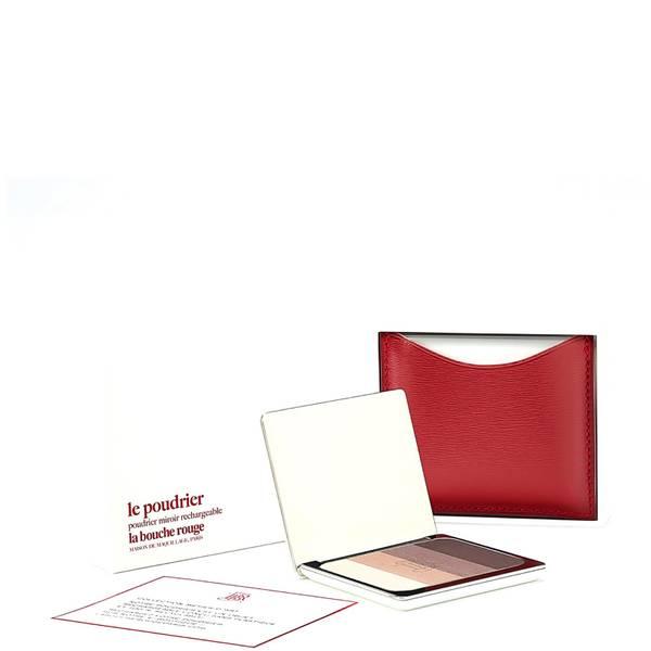 La Bouche Rouge Paris Red Fine Leather Aral Eye Shadow Set
