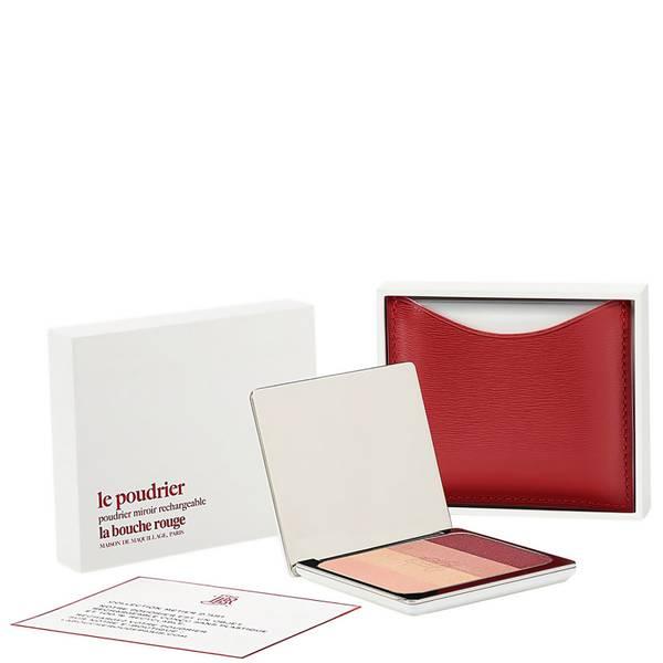 La Bouche Rouge Paris Red Fine Leather Salton Eye Shadow Set