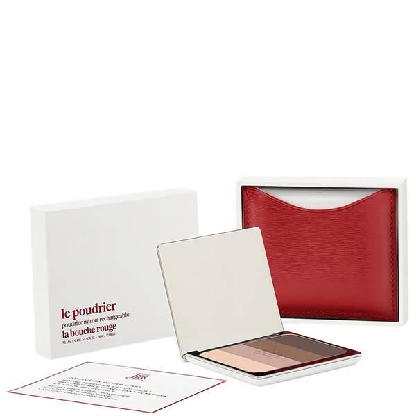 La Bouche Rouge Paris Red Fine Leather Tage Eye Shadow Set