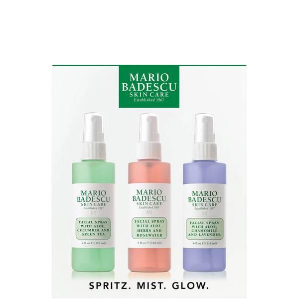 Mario Badescu Spritz. Mist. Glow.