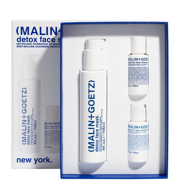 MALIN + GOETZ Detox Face Set