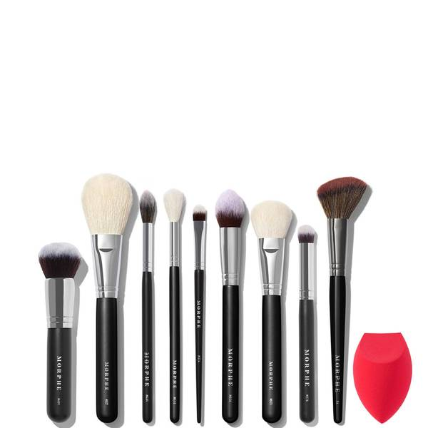Morphe Babe Faves Face 10-Piece Best-Selling Brush & Sponge Collection