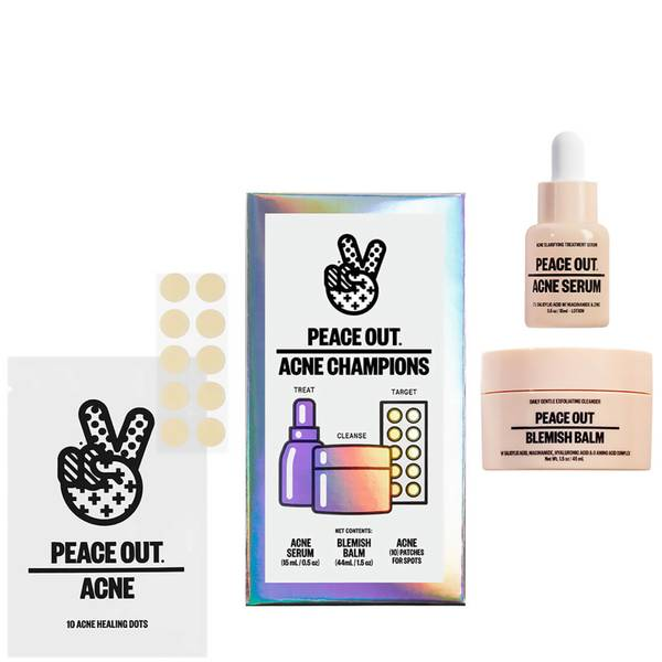 Peace Out Acne Champions Kit