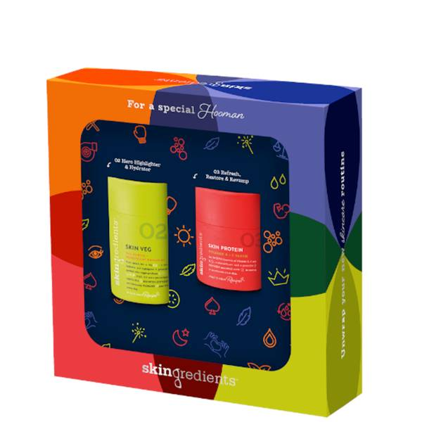 Skingredients Skin Veg & Skin Protein Gift Set