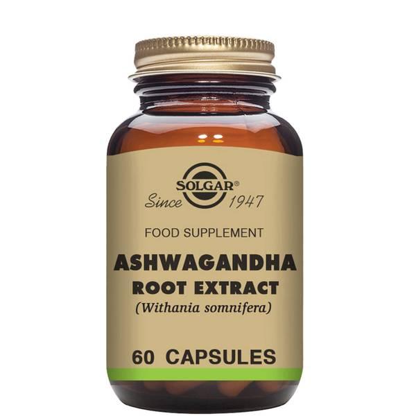 Solgar Ashwagandha Root Extract Vegetable Capsules
