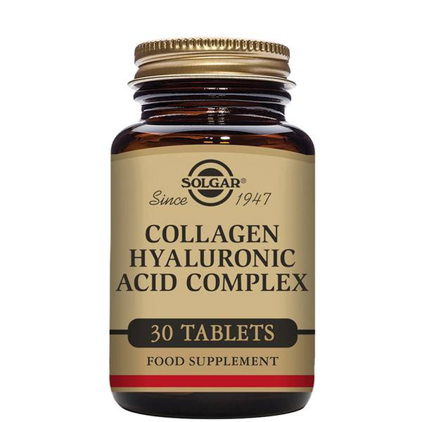 Solgar Collagen Hyaluronic Acid Complex Tablets