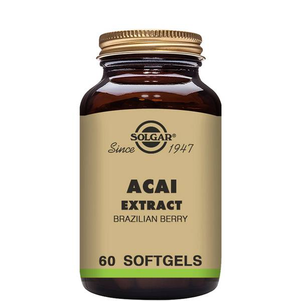Solgar Acai Extract Softgels