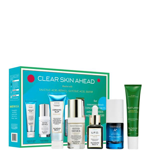 Sunday Riley Clear Skin Ahead Kit