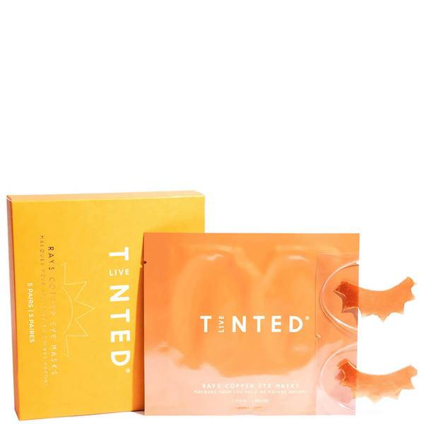 Live Tinted Rays Copper Eye Masks