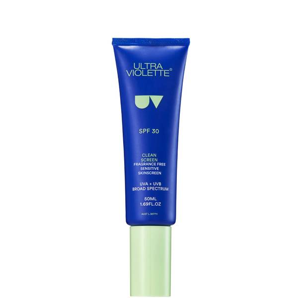 Ultra Violette Clean Screen Fragrance Free Sensitive Facial Skinscreen SPF 30