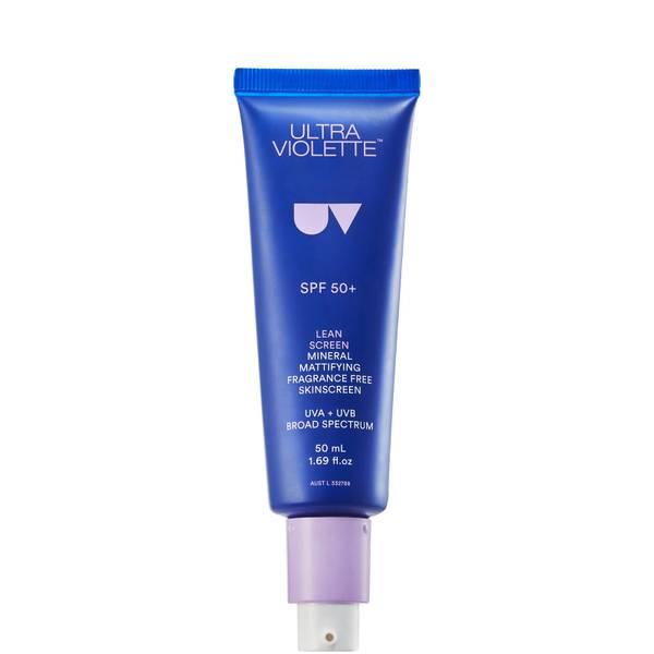 Ultra Violette Lean Screen Mineral Mattifying Fragrance Free Skinscreen SPF50
