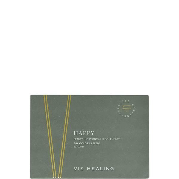 Vie Healing HAPPY 24k Gold Ear Seeds