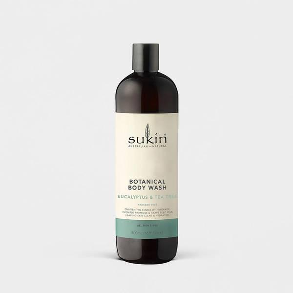 Botanical Body Wash - Eucalyptus & Tea Tree Oil - 500ml