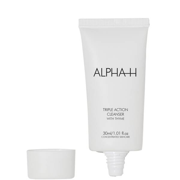 Alpha-H Triple Action Cleanser with Thyme 30ml