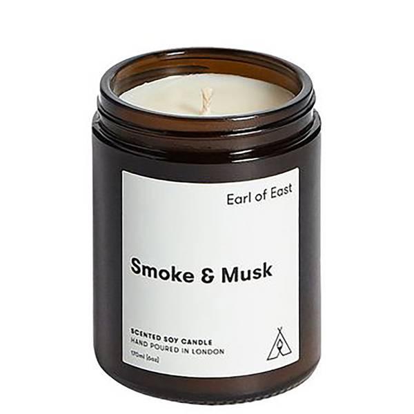 Earl of East Soy Wax Candle-Smoke & Musk