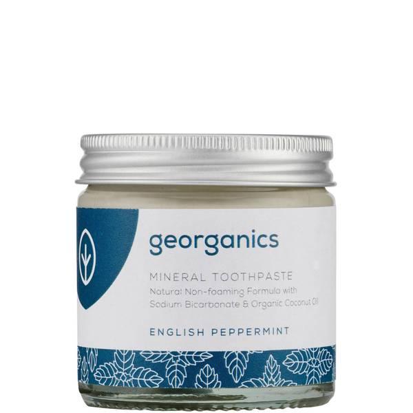 Georganics Mineral Toothpaste 60ml English Peppermint