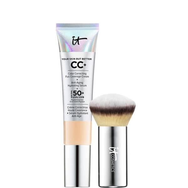 IT Cosmetics Your Skin But Better CC + Cream and Mini Brush Kit