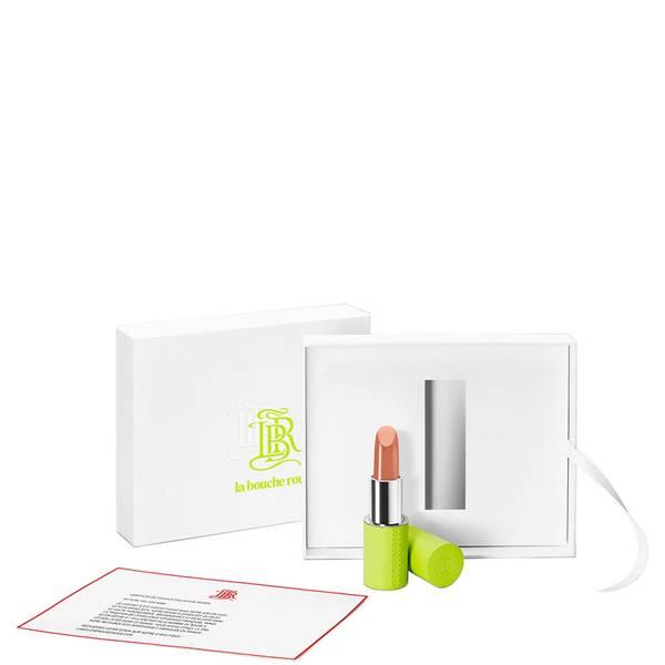 La Bouche Rouge Paris Elsa Hosk X La Bouche Rouge Lime Green Refillable Lipstick & Leather Case