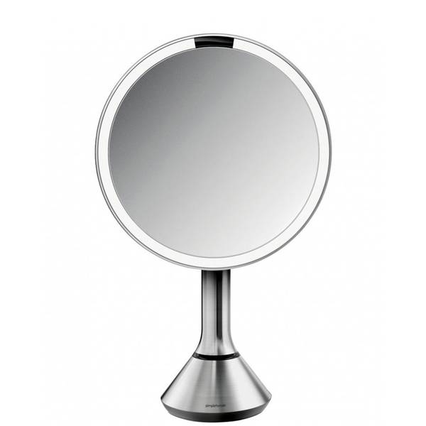 simplehuman Sensor Mirror 8 Inches With Touch-Control Brightness