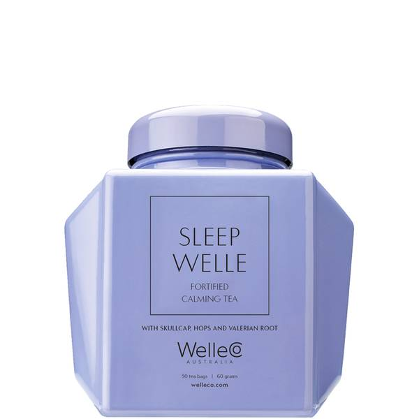 WelleCo Sleep Welle Fortified Calming Tea Caddy