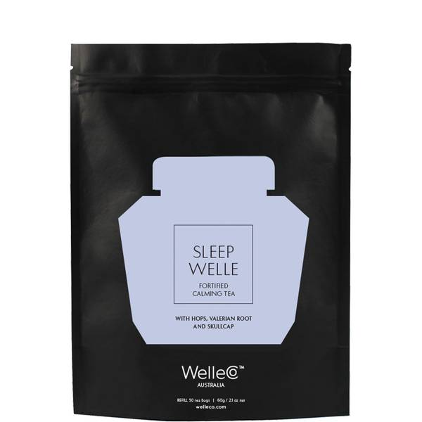 WelleCo Sleep Welle Fortified Calming Tea Pouch Refill