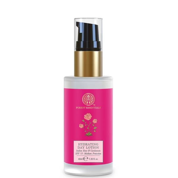 Forest Essentials Hydrating Day Lotion with SPF15 - Indian Rose and Cardamom 40ml