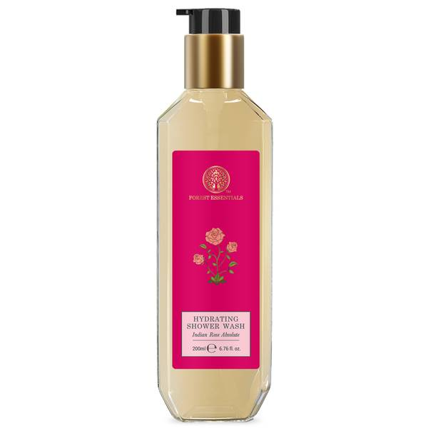 Forest Essentials Hydrating Shower Wash Indian Rose Absolute (Various Sizes)