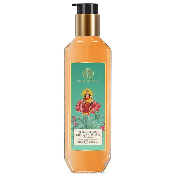 Forest Essentials Hydrating Shower Wash Soundarya (Various Sizes)