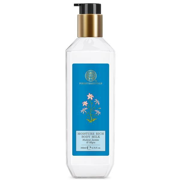 Forest Essentials Moisture Rich Body Milk Jasmine and Mogra (Various Sizes)