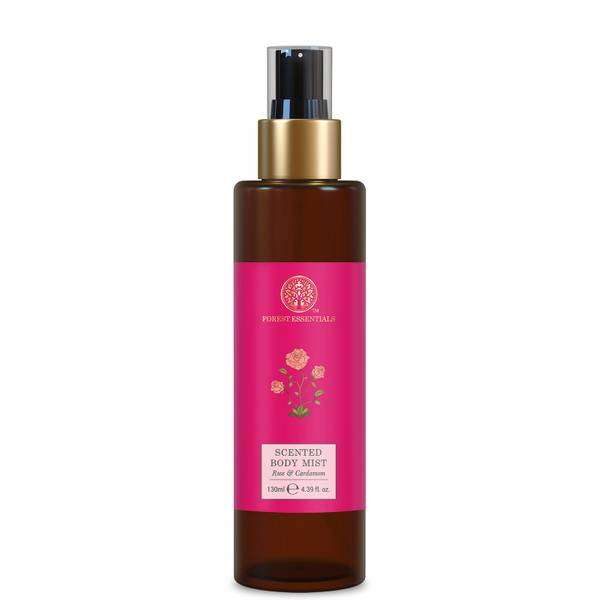 Forest Essentials Scented Body Mist - Rose and Cardamom 130ml