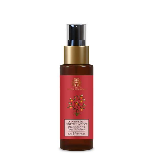 Forest Essentials Ayurvedic Formulation Natural Deodorant - Orange and Cardamom 50ml