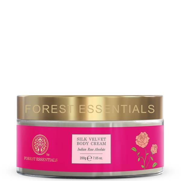 Forest Essentials Silk Velvet Body Cream - Indian Rose Absolute 200g