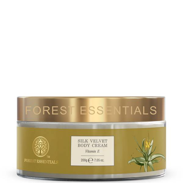 Forest Essentials Silk Velvet Body Cream - Vitamin E 200g