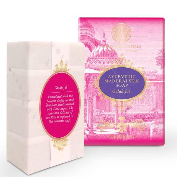 Forest Essentials AyurvedicMadurai Silk Soap - Gulab Jal 100g