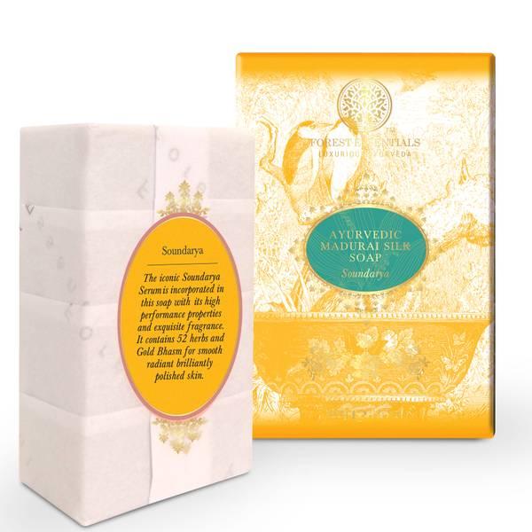 Forest Essentials Ayurvedic Madurai Silk Soap - Soundarya 100g