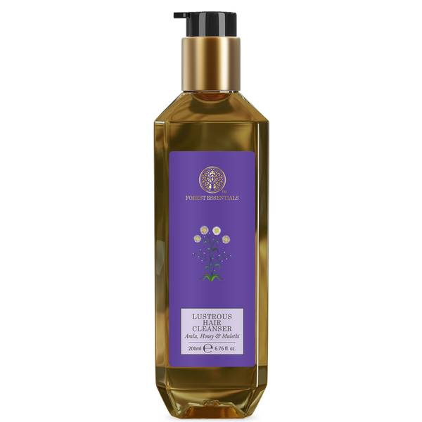 Forest Essentials Lustrous Hair Cleanser Amla Honey and Mulethi (Various Sizes)