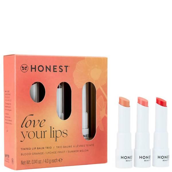 Honest Beauty Tinted Lip Balm Trio