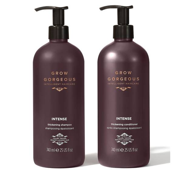 Grow Gorgeous Supersize Intense Thickening Shampoo and Conditioner Bundle