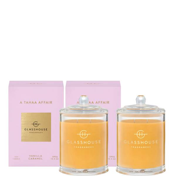 Glasshouse A Tahaa Affair Candle Duo