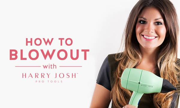 Hair Tutorial: 6 Steps to a Gorgeous Blowout at Home