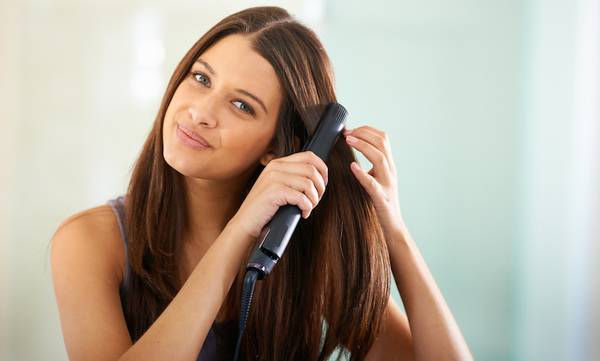 How to Get Perfectly Straight Hair at Home: 6 Pro Tips