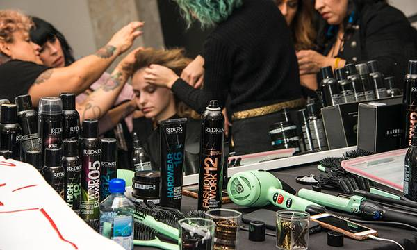 Spotted at LA Fashion Week: Harry Josh® Pro Tools