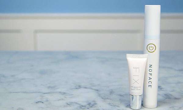 Here's What Happened When We Tried NuFACE FIX Line Smoothing Device